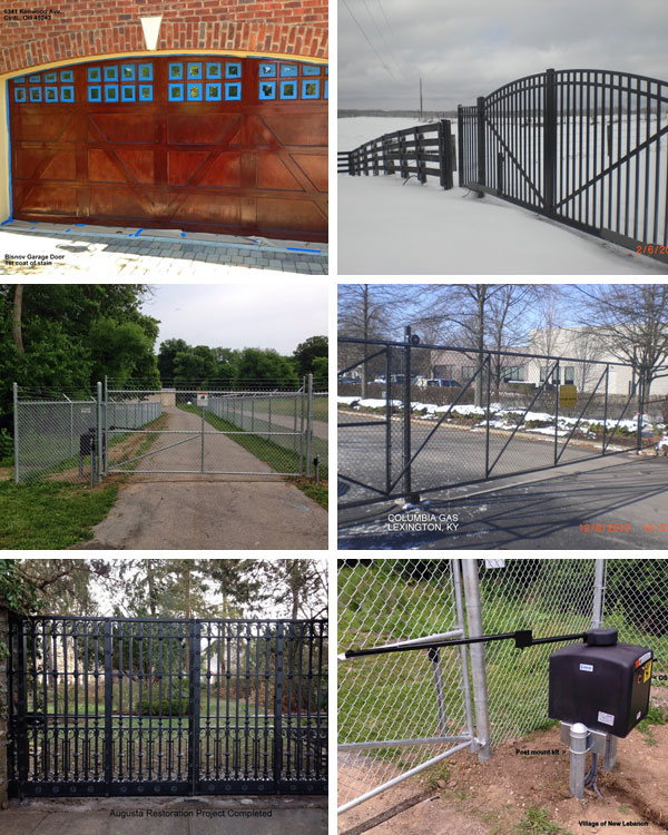 Automatic Gates Plus Collage