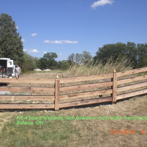 Aluminum-Wood-Chainlink-Fence-4-board-double-sided-2