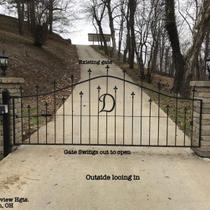 Aluminum-Royal-Arch-Automatic-Gate-Portsmouth-Ohio