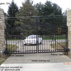 Traditional-Aluminum-Automatic-Gate