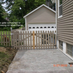 Residential-Custom-Double-Gate-Converted