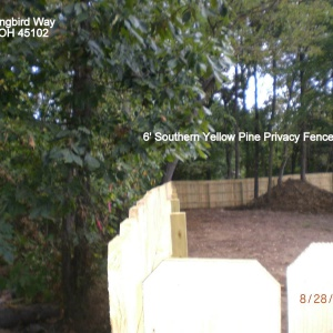 Wood-6ft-Southern-Yellow-Pine-Privacy-Fence-Amelia-Ohio