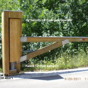 Wood-Hy-Security-Lift-Riser-Gate-Operator-Tipp-City-Ohio