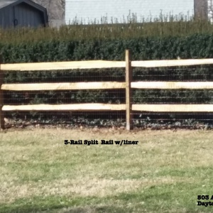 Aluminum-Wood-Chainlink-Fence-split-rail-2